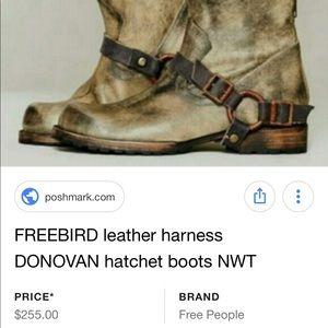 Freebird by Steven Hatchet Boots